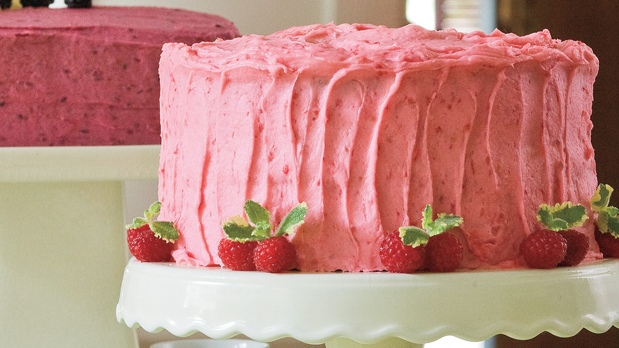 Raspberry Buttercream Frosting