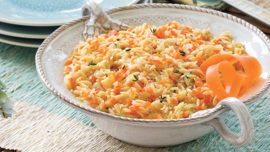 Dinner Party Menu Ideas For 12 Part - 31: Quick And Easy Summer Party Menu: Carrot Orzo