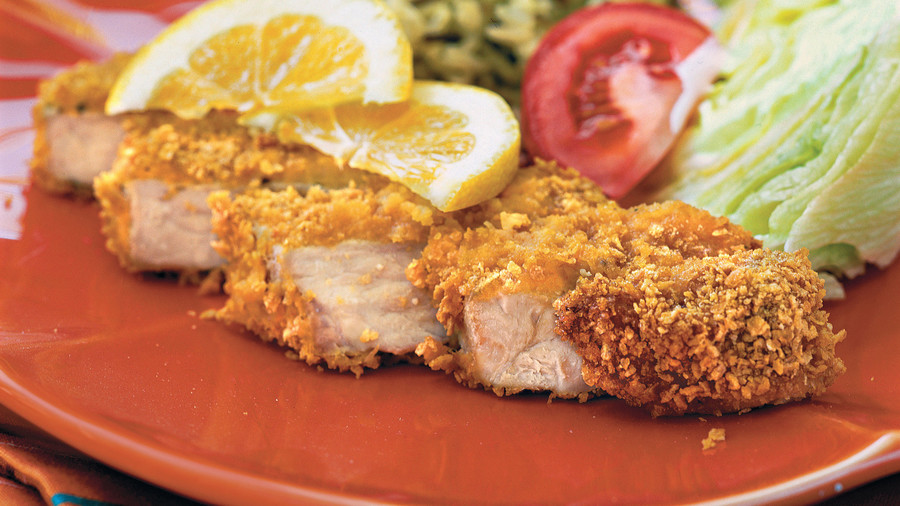 Quick and Easy Dinner Recipes: Cornflake-Coated Pork Chops