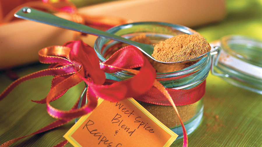 Food Gifts for Christmas: Sweet Spice Blend