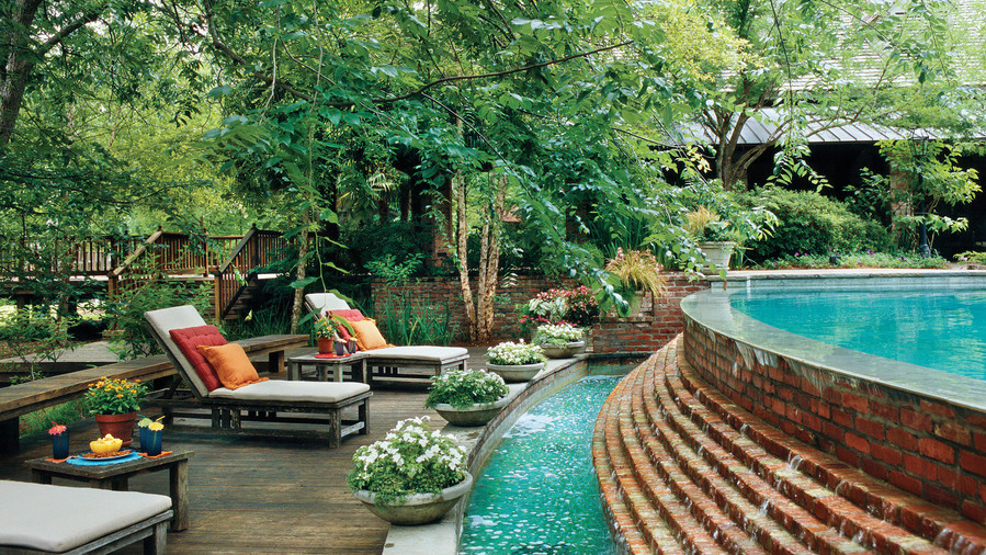 Sparkling Pools - Southern Living on Southern Pools And Outdoor Living id=54149