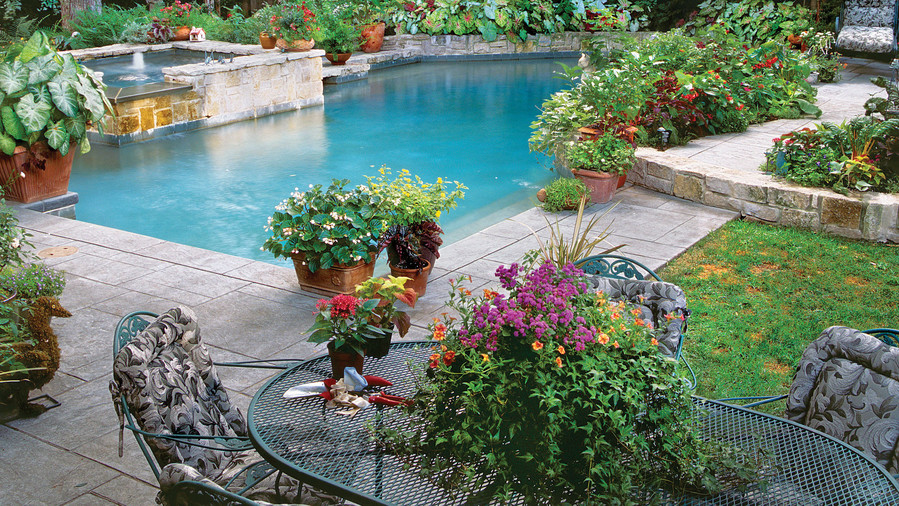 Sparkling Pools - Southern Living on Southern Pools And Outdoor Living id=39578
