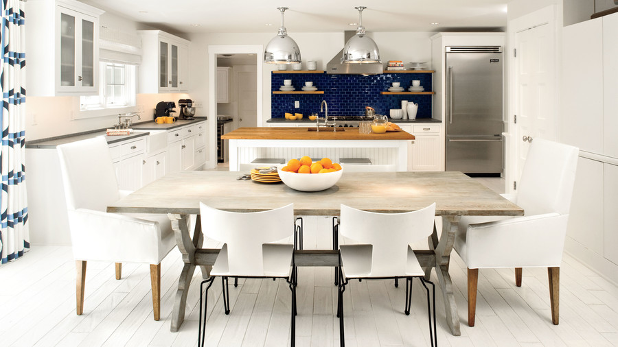 Nautical White Kitchen
