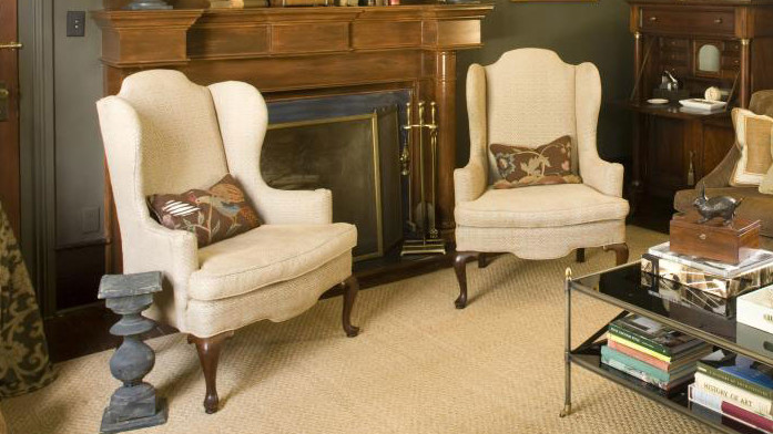 Home Restorations: Wingback Chairs