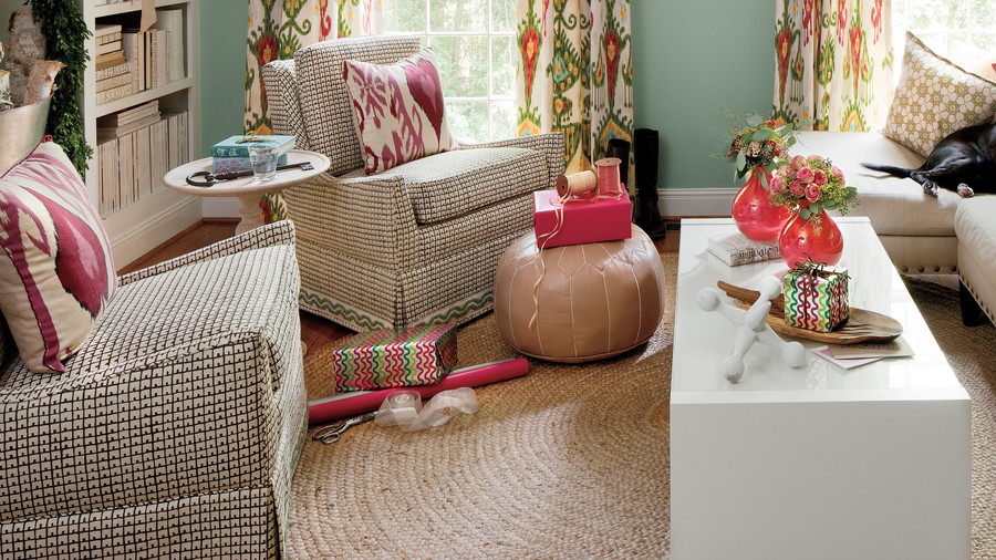 Before And After Den Makover Southern Living
