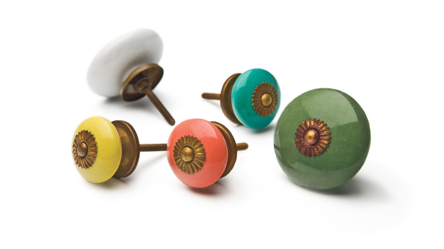 Zinnia Knobs