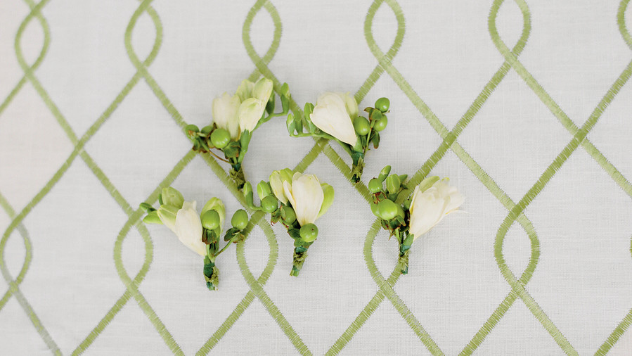 RX_ Berry Boutonniere