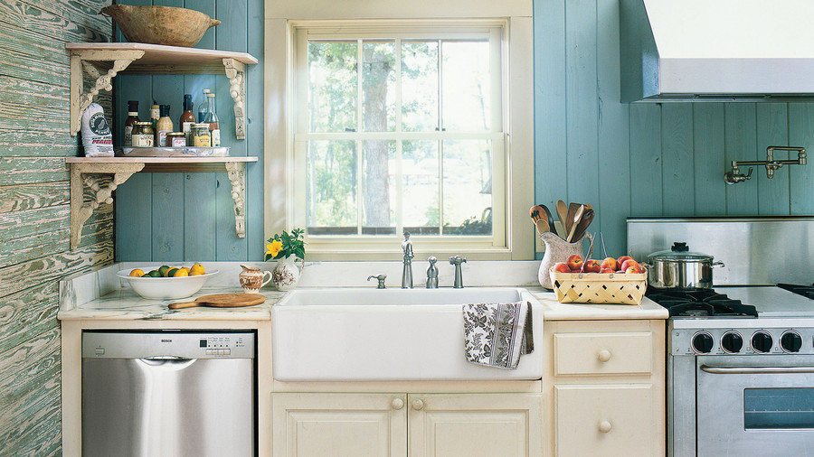 Blue Cottage Sink