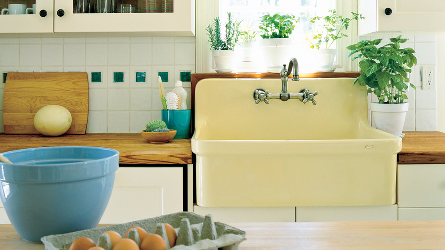 Delicieux Butter Yellow Farmhouse Sink