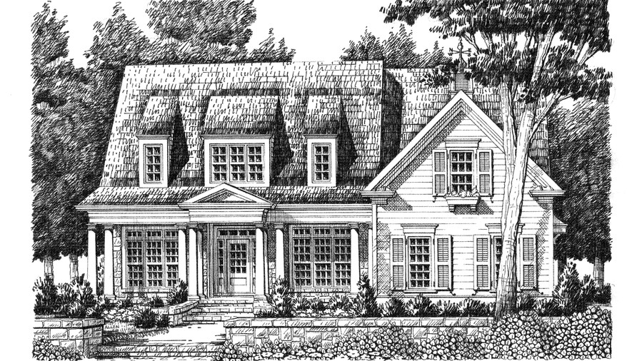 Top 12 best selling house plans southern living for Lrk house plans