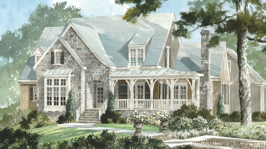 Traditional charleston style house plans for Charleston single house