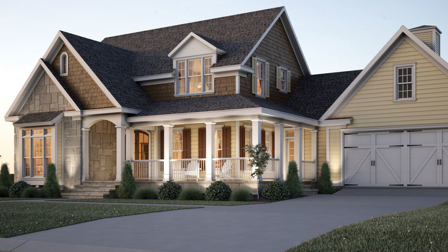 Top 12 best selling house plans southern living for Stone creek house plan