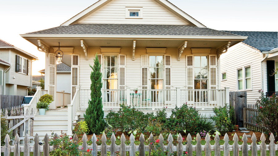 New Orleans Cottage Revival