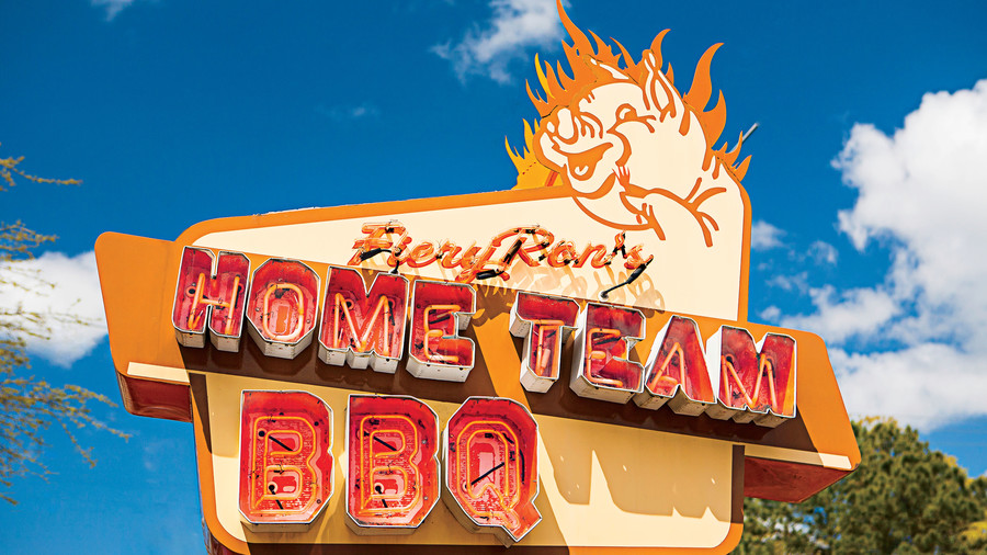 1. Fiery Ron's Home Team BBQ