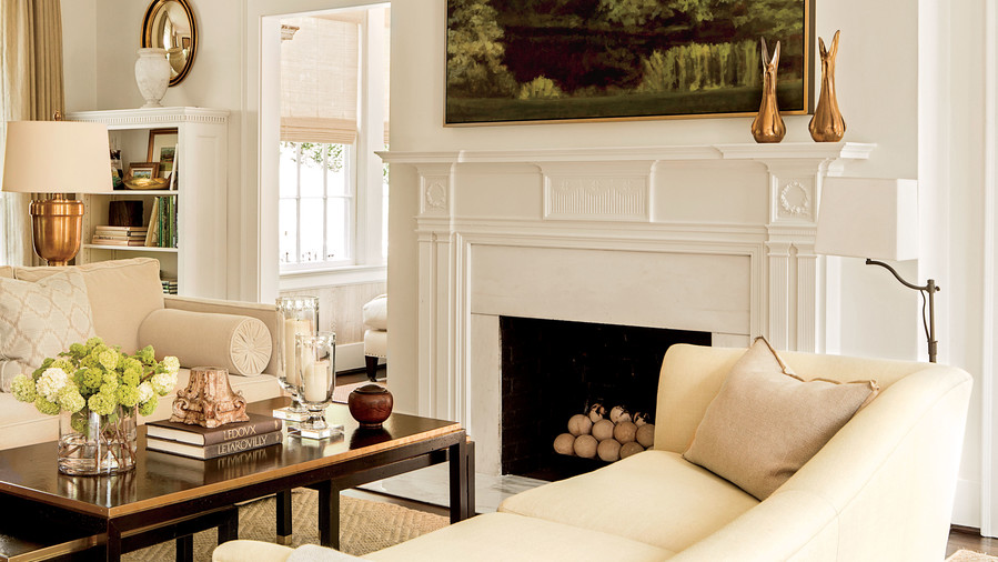 Cozy Ideas For Fireplace Mantels Southern Living