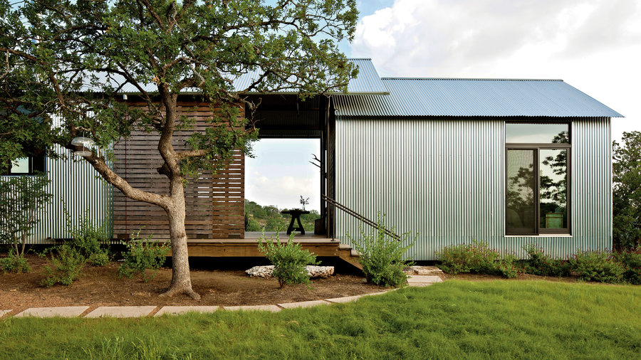Open dogtrot homes southern living for Dog trot house plans southern living