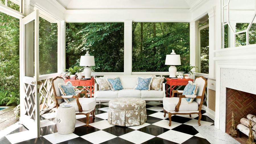 Home furniture pottery barn · porch and patio design inspiration southern living