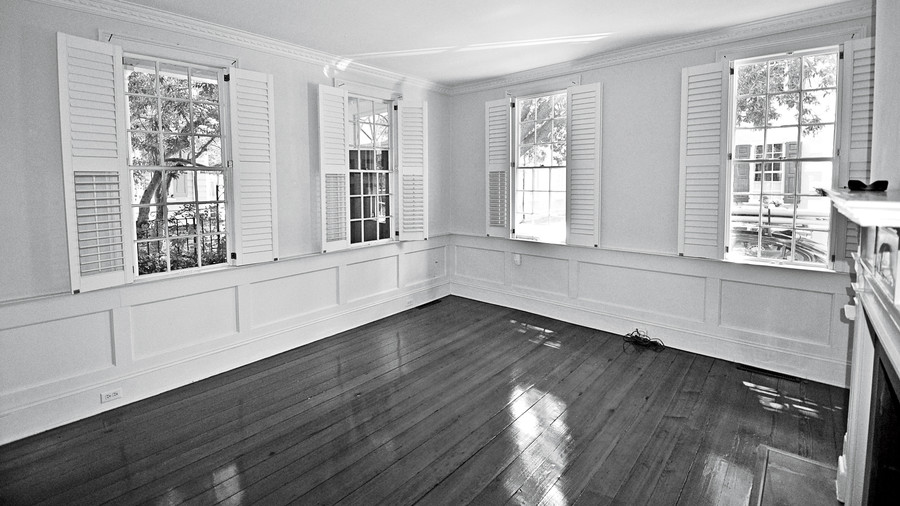 Before: Historic Single House Living Room
