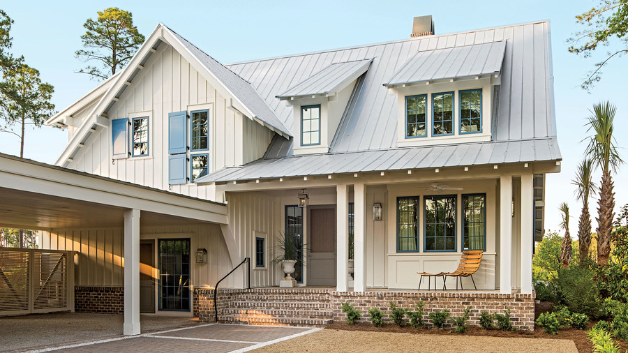 Charming home exteriors southern living for Victoria magazine low country style