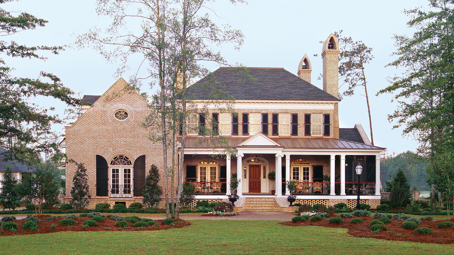 Top 12 best selling house plans southern living for Top rated house plans