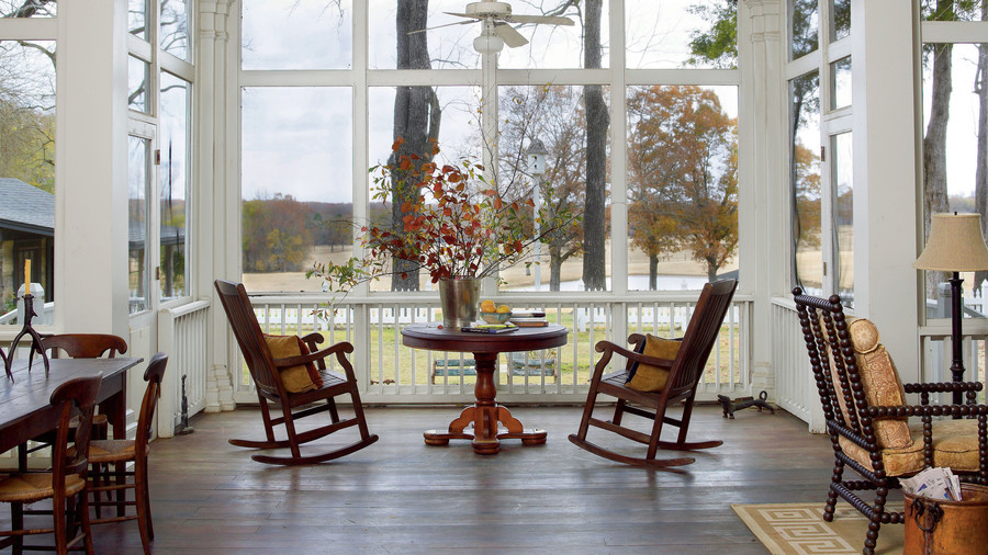 Real Life Redo Screened Porch Addition Southern Living