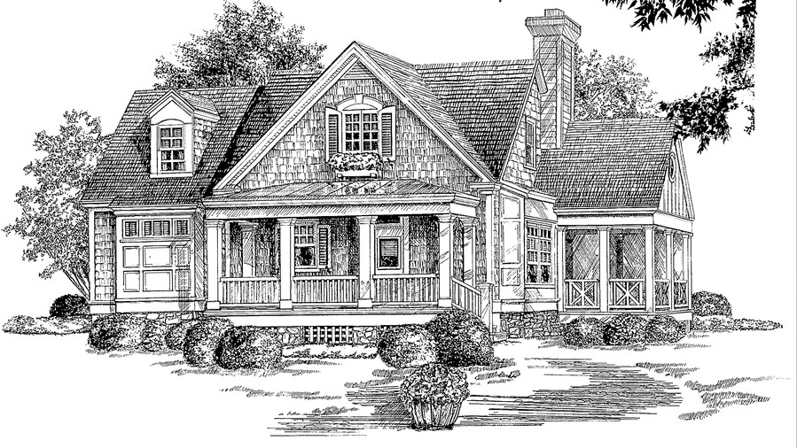 Heather Place, Plan #945