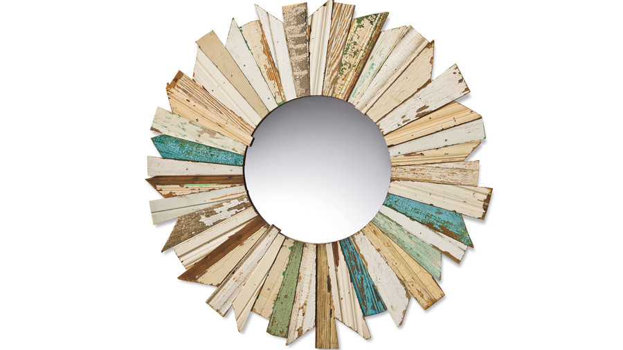 Cabin and Cottage Decorating Accessories: Sunburst Mirror
