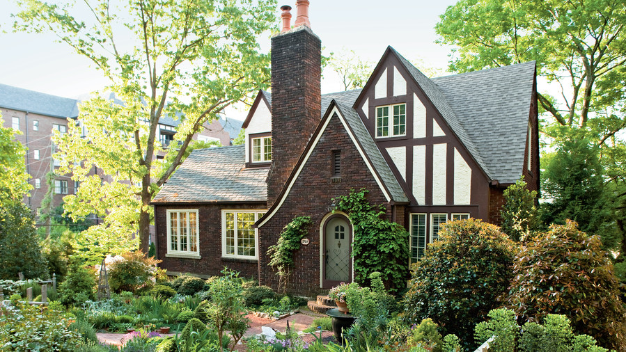 Cottage garden design southern living for Tudor cottage plans