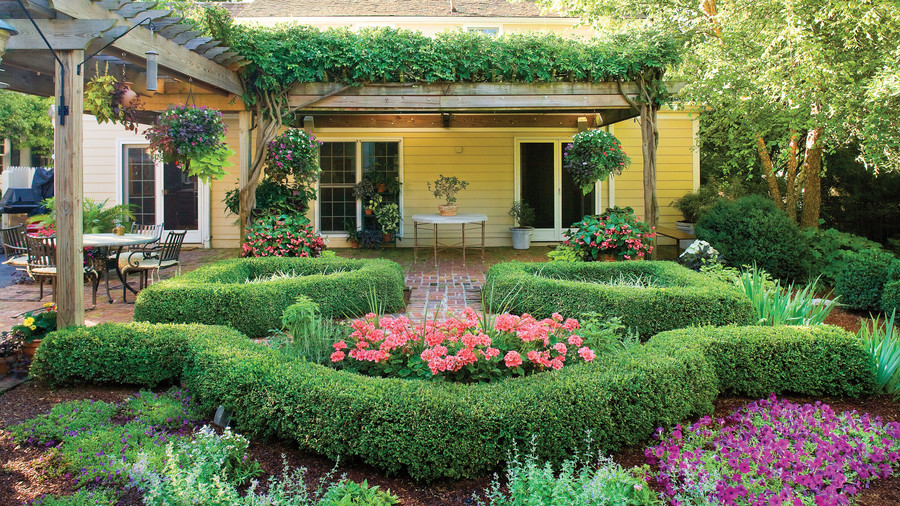 Garden Cottage Print Southern Living Hanover House