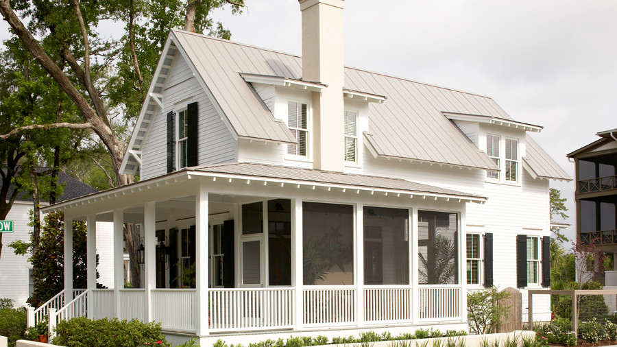 Front Wraparound Porch