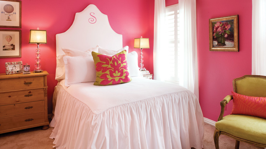 Inviting Upholstered Headboards - Southern Living