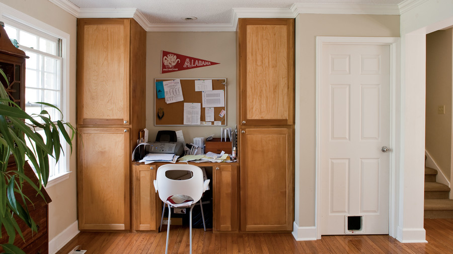 Before And After Home Office Makeover Southern Living