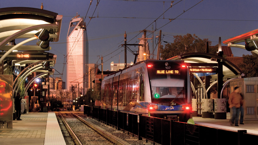 Best Neighborhoods: Train service in Charlotte, NC