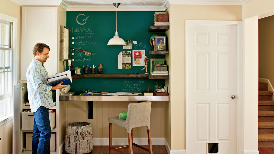 home office makeover. After Home Office Makeover