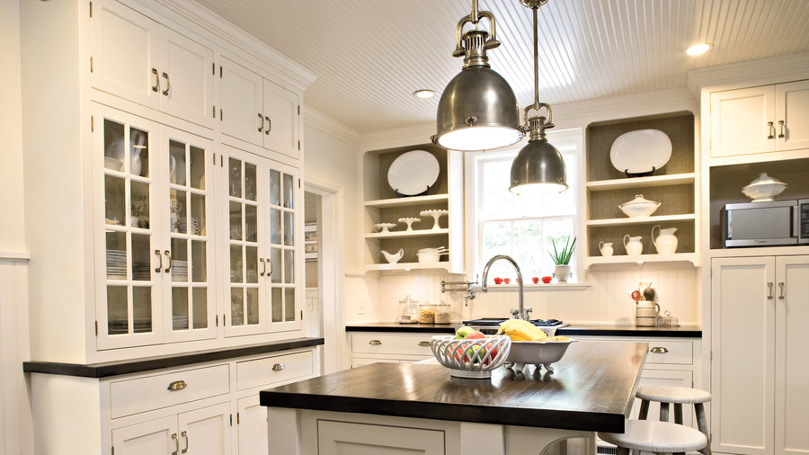 Open White Kitchens