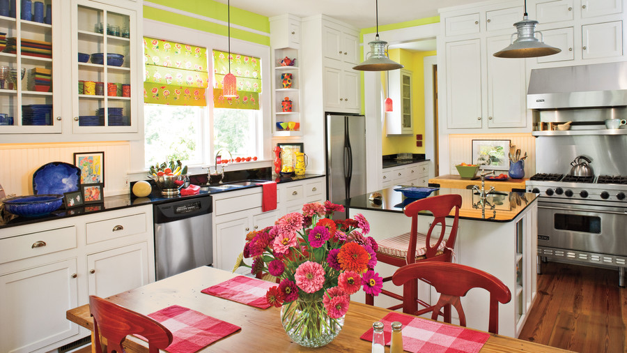 Farmhouse White Kitchens
