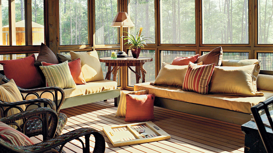 layout furniture decorating design in enchanting porch for ideas screened