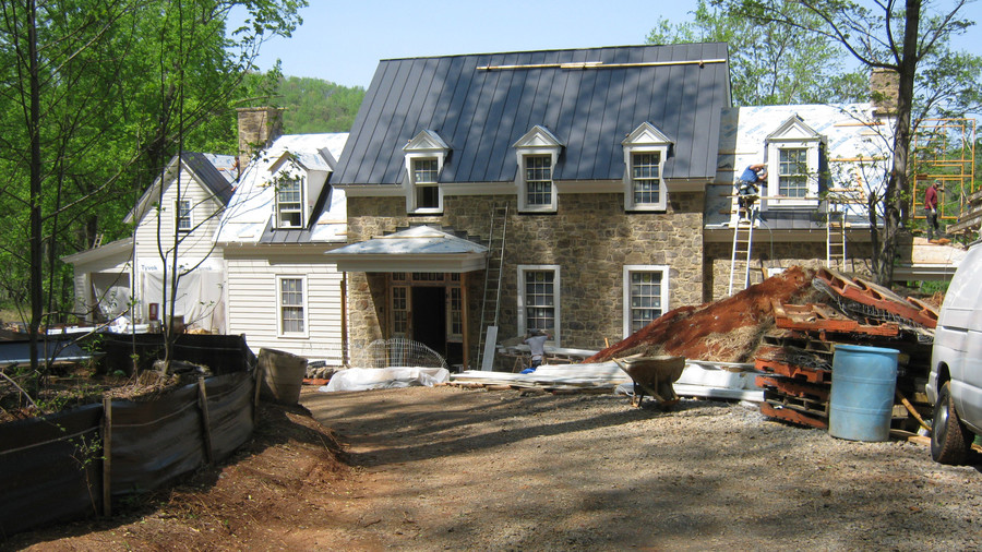 2015 Idea House Under Construction Southern Living