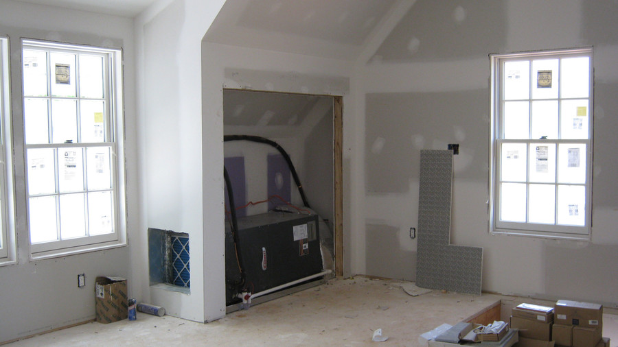 Idea House Construction Upstairs