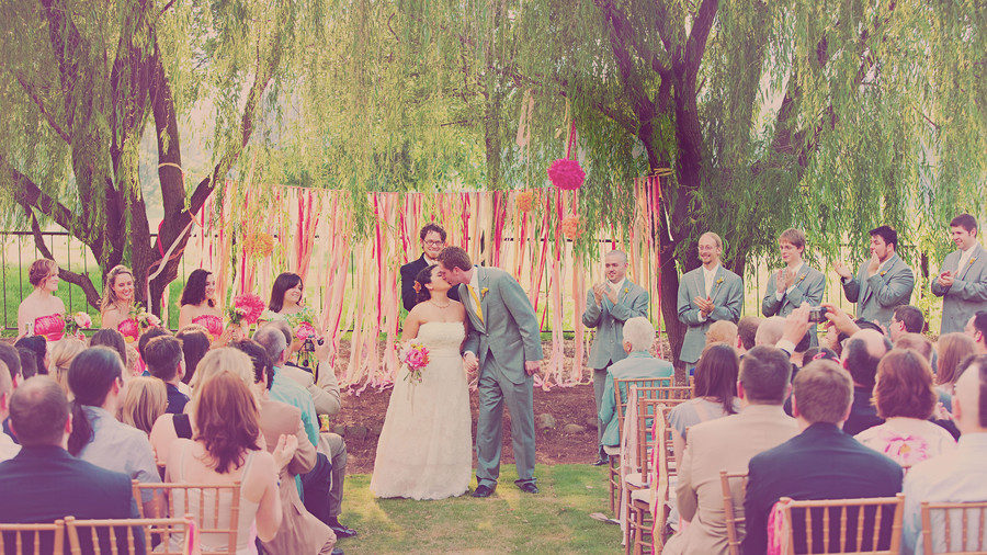 Filtered Wedding Photography