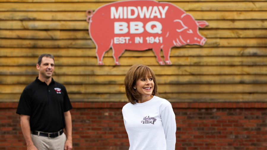 Midway BBQ in Buffalo, South Carolina