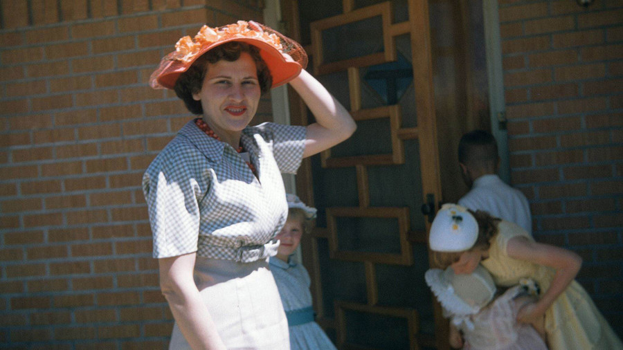 Peggy Brewer Smith, 1957