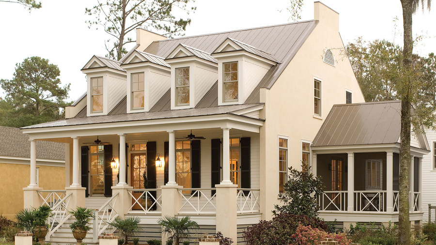 17 house plans with porches southern living for Build on your lot louisiana