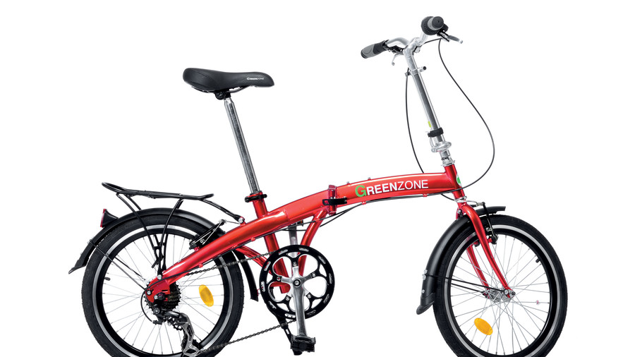 RX_ For the Urban Traveler: 20-Inch Folding Bike