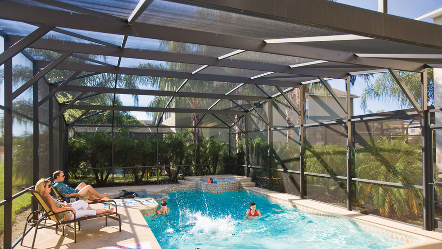 disney vacation home swimming pool
