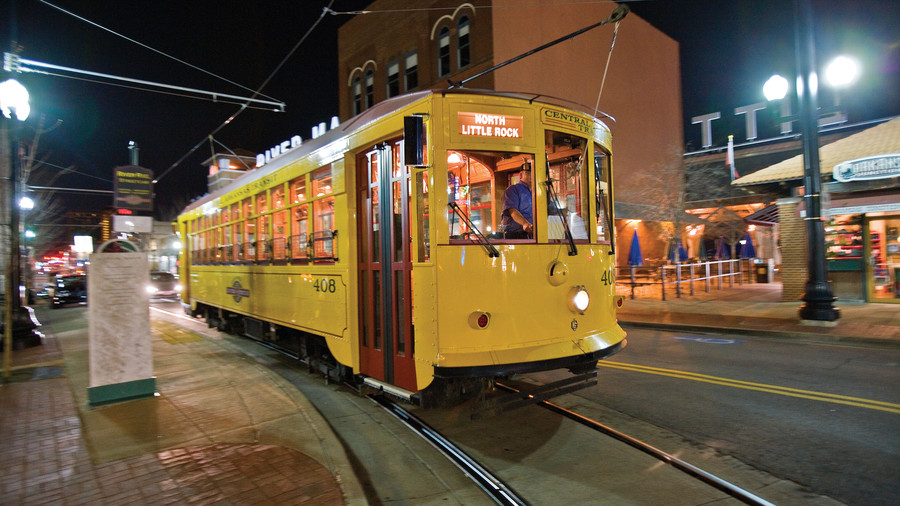 little rock trolley service