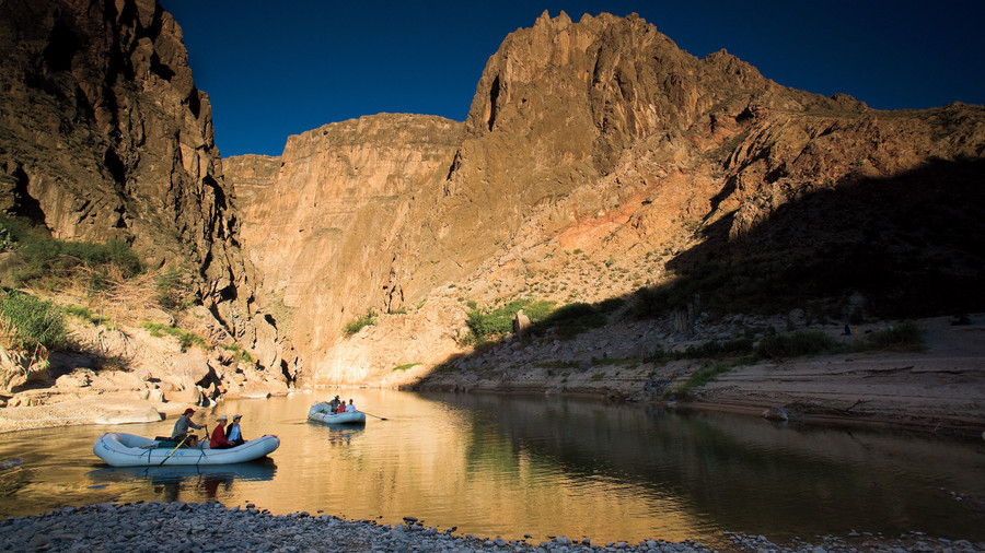 Southern Vacations: Rio Grande Gourmet Rafting Trip