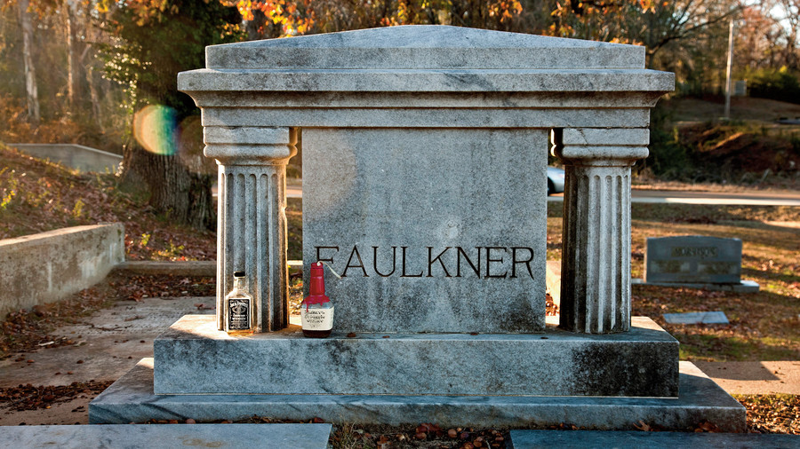 Pay Homage at Faulkner's Grave