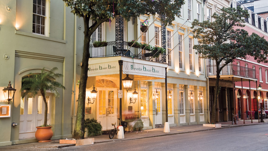 French Quarter New Orleans Hotels Bienville House