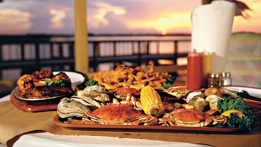 The Best Seafood Along the South's Saltwater Shores